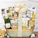 Celebration Champagne and Gourmet Food Basket