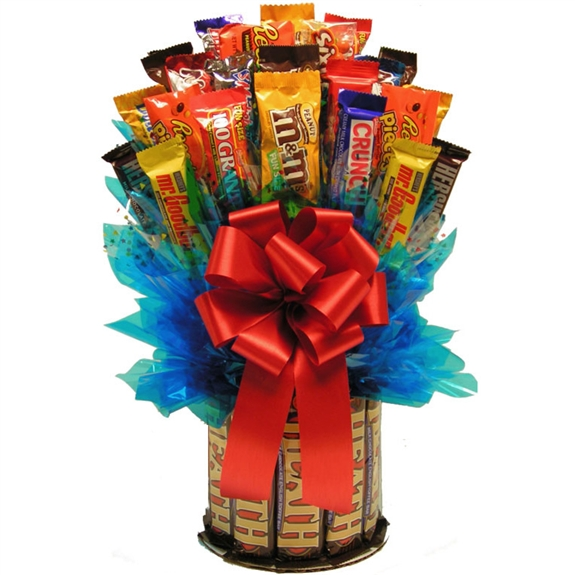 Heath & More Candy Bouquet | Hersheys Chocolate Gifts | Arttowngifts.com