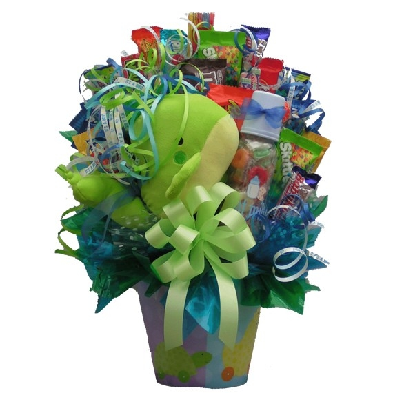 New Baby Candy Bouquet | Newborn Gifts | Arttowngifts.com