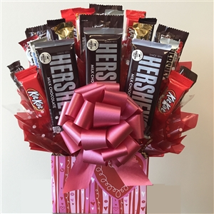 Sweetheart Candy Bouquet