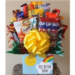 Feel Better Soon Get Well Candy Bouquet