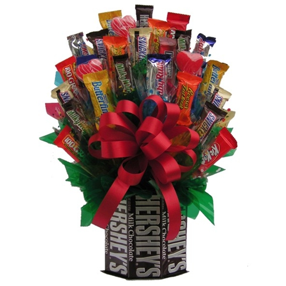 Hersheys & More Candy Bouquet