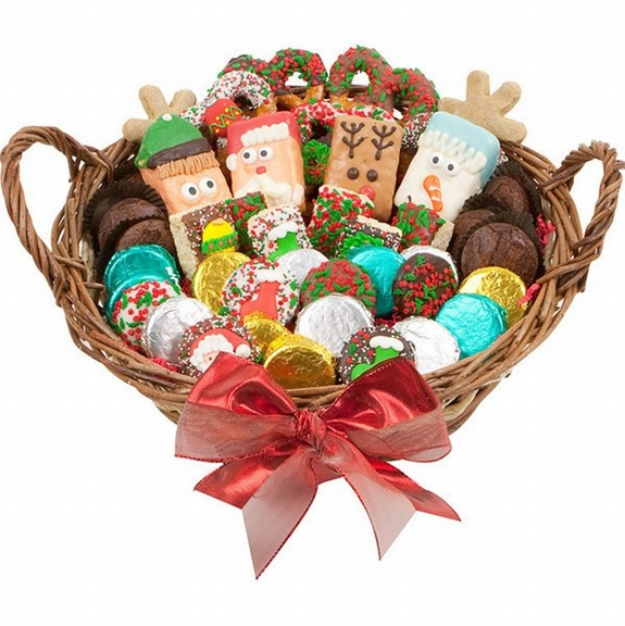 Christmas Gourmet Bakery Gift Basket | Bakery Gifts | Brownie Gift ...