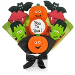 Halloween Cookie Bouquet