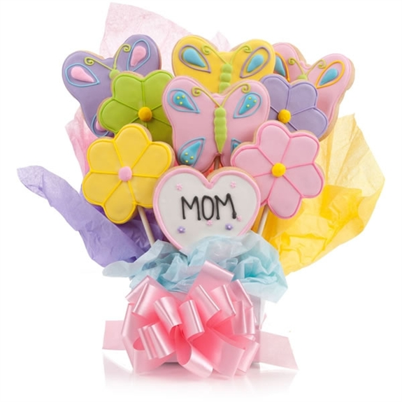 Just for Mom Cookie Bouquet | Iced Cookies | Bakery Gifts