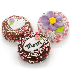 Mother's Day Chocolate Dipped Oreo© Cookies  Gift Box - Oreo Cookies dipped in a variety of high quality Belgian Chocolates.