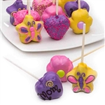 Cake Pops decorated in pastel colors in your choice of cake flavor