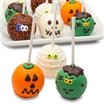 Cake Pops decorated for Halloween
