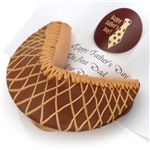 Chocolate Peanut Butter Giant Fortune Cookie