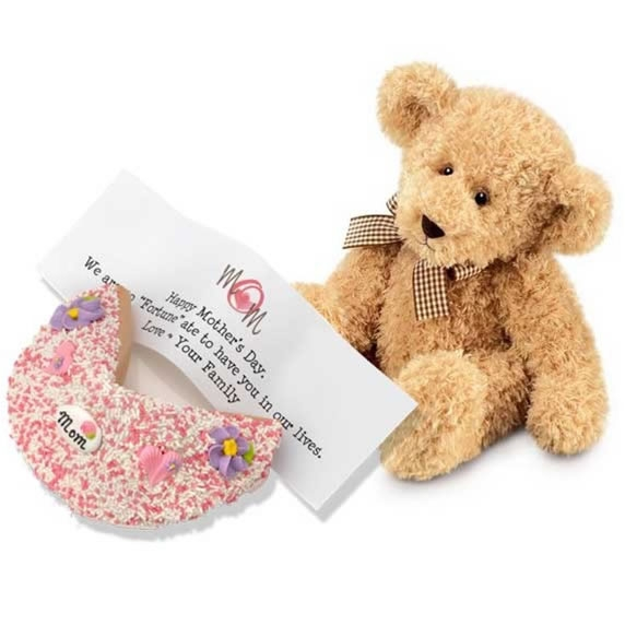 Mother's Fortune Cookie and Teddy Bear