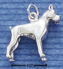 Boxer Charm - Charms and Lockets Jewelry