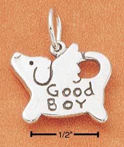 Good Boy Dog Charm