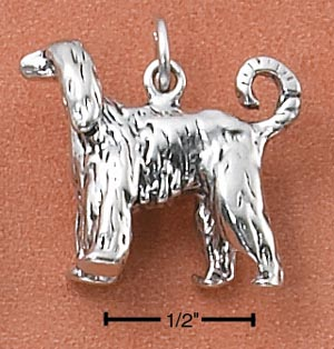 Afghan Hound Charm - Charms and Lockets Jewelry