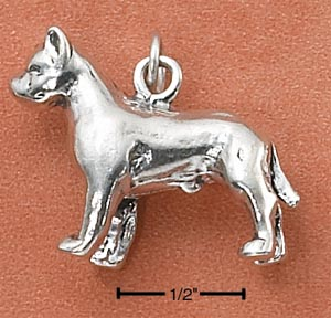American Staffordshire Terrier Charm - Charms and Lockets Jewelry