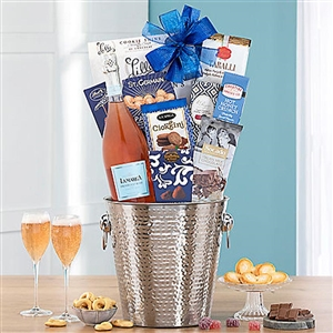 Celebration Prosecco and Gourmet Food Basket