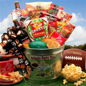 Tailgate Party Time Gift Pail