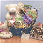 <b>Have A Beary Happy Birthday Basket </b><br> Teddy Bear and Treats Perfect for all ages. </b><br>