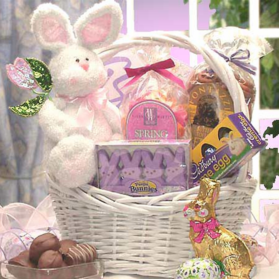 Somebunny Special Bunny and Candy Easter Gift Basket