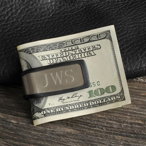 Sporty Fit Money Clip Personalized