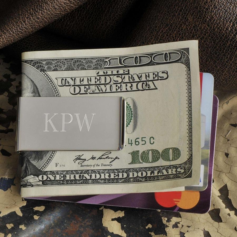 No Slip Money Clip Personalized...